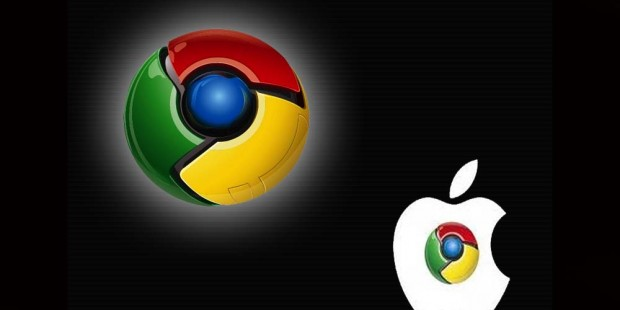 Google Chrome y Apple