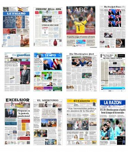 Portadas Diarios internacionales 19 06 2012