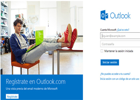 Hotmail y Outlook 3