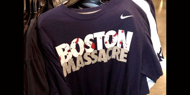 Boston masacre portada