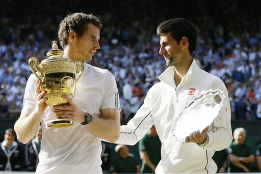 Andy Murray y Novak Djokovic