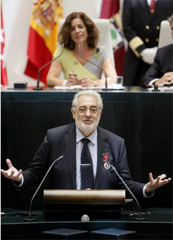 Placido Domingo preferido de Madrid 2