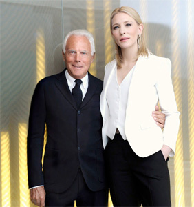 Armani y Cate