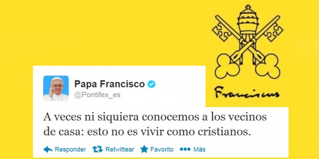 Papa Francisco tweet
