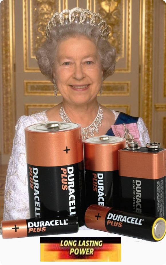 Isabel II Duracell