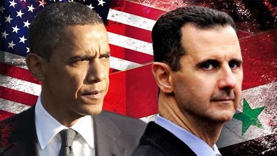 Obama y El Assad