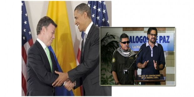 Obama y colombia