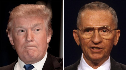 Donald Trump y Ross Perot