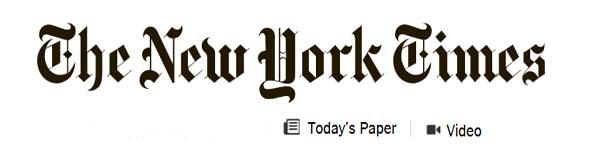 The New York Times Banner