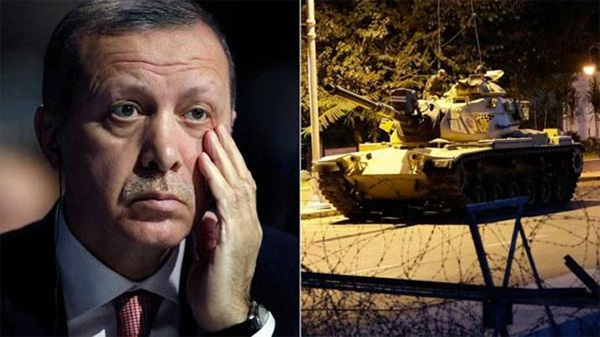 Erdogan y los tanques