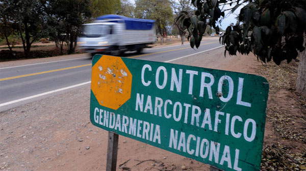 Narcotráfico Argentina control