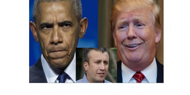 El Aissami Obama y Trump