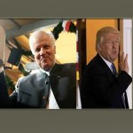Trump y Horst Seehofer