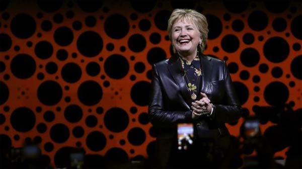 Hillary Clinton en San francisco