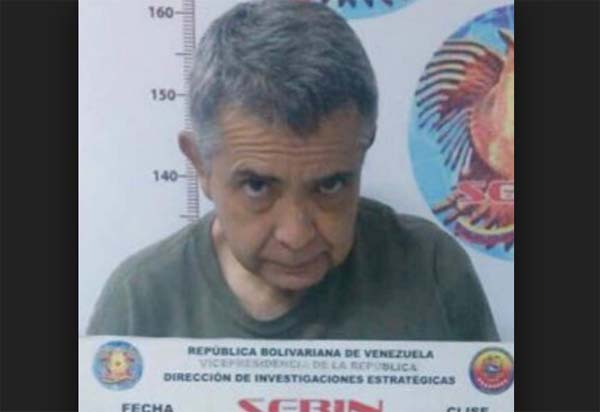 General Angel Vivas detenido ficha