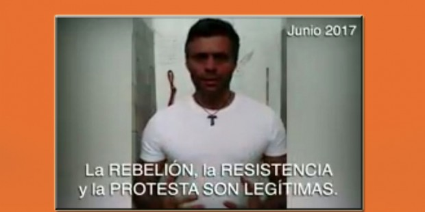 Leopoldo López Video 4 de junio 2017