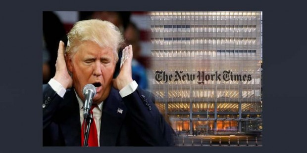 Trump contra The New York Times