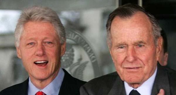 Bush y Clinton 4