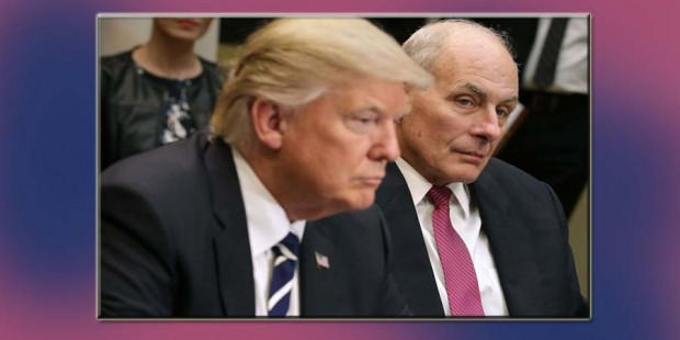 Trump y El general John Kelly