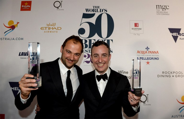 Daniel Humm y Will Guidara