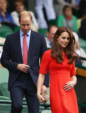 Kate Middleton tercer embarazo Foto 2