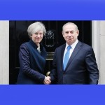 Netanyahu con Theresa May