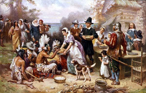 Thanksgiving historia