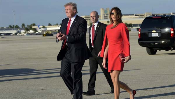 Trump viaja a Palm Beach