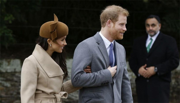 Meghan Markle y Harry foto 4
