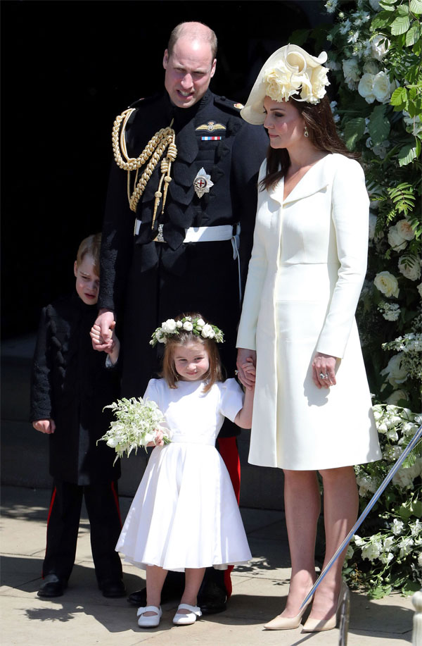 William Kate y sus hijos