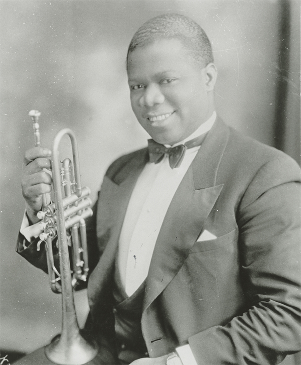 Louis Armstrong foto joven