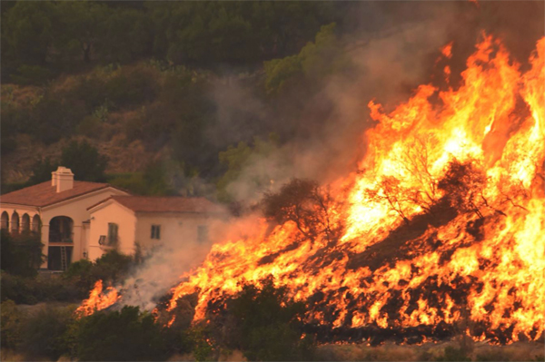 California Incendio julio 2018