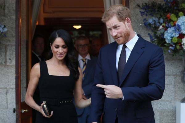 Meghan Markle y Harry foto 9