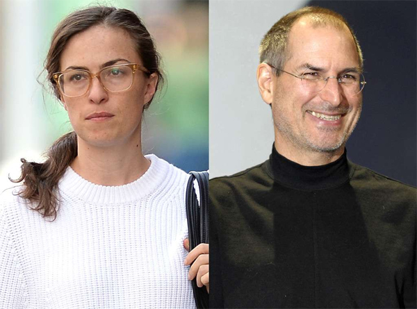 Steve Jobs y Lisa Brennan-Jobs