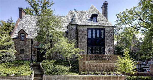 Obama y su gran casa en en Washington DC