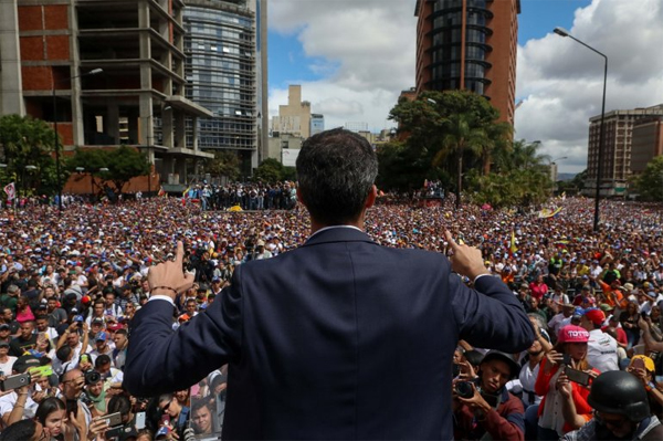 Guaidó multitud
