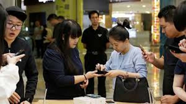 iPhone ventas en China