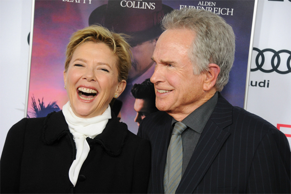 Warren Beatty y Anette Bening