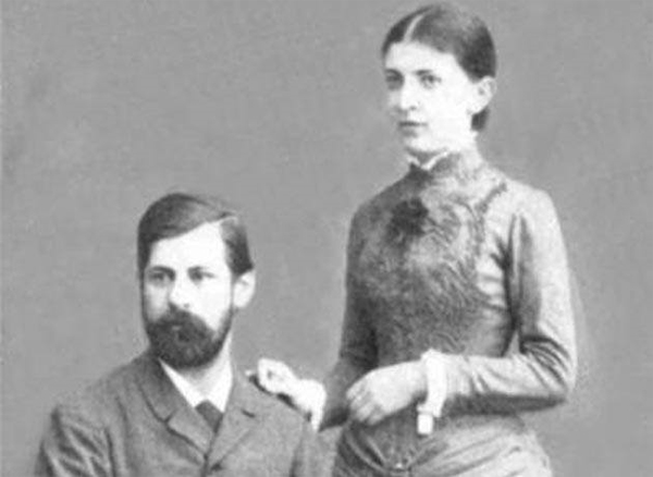 Freud y Martha Bernays