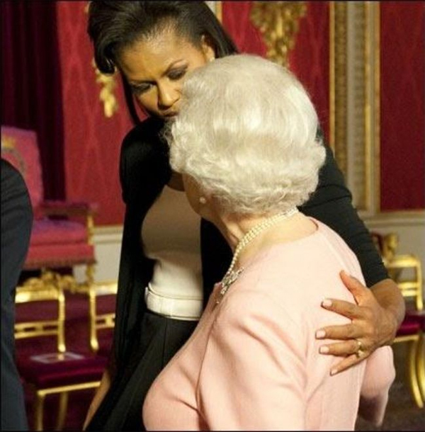 Michelle Obama e Isabel II