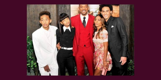 Will Smith y los hijos