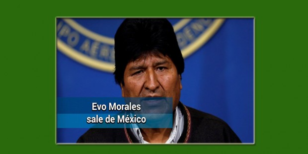 Evo Morales de México a Cuba