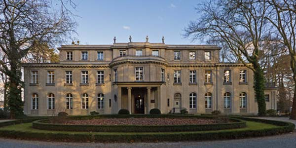 Alemania Nazi mansion de Wannsee