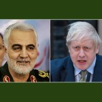 Boris Johnson y Soleimani