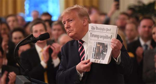 Washington Post Trump fin del Impeachment