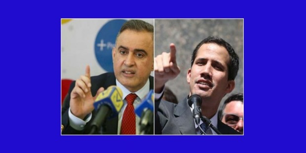 Tarek William Saab y Guaidó