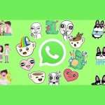 WhatsApp trae stickers