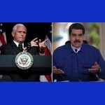 Mike Pence y Maduro