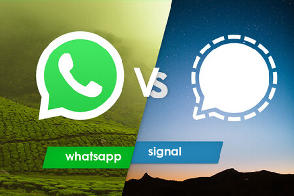 WhatsApp y Signal