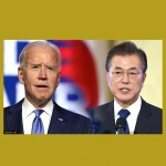 Biden y Moon Jae-in